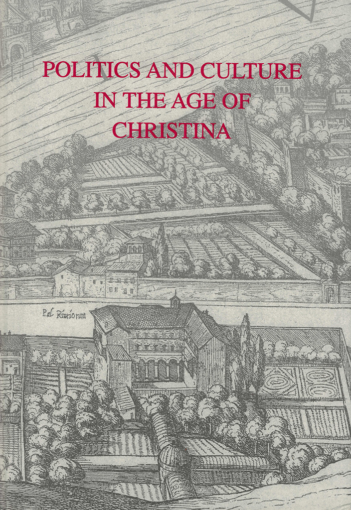Cover of Politics and culture in the Age of Christina