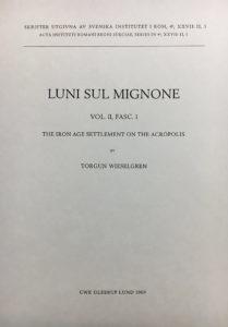 Front cover of Luni sul Mignone 2:1