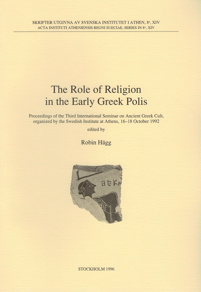 Front cover of The role of religion in the early Greek polis