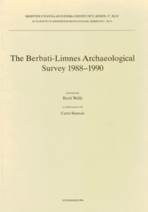 Front cover of Berit Wells & Curtis Runnels, eds., The Berbati-Limnes Archaeological Survey 1988–1990