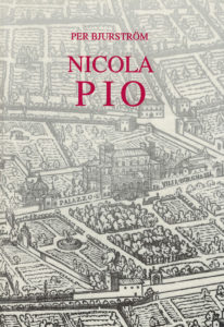 Front cover of P. Bjurstöm, Nicola Pio as a collector of drawings, Stockholm 1995