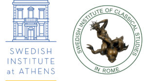 Logotypes of the Swedish Institutes at Athens and Rome 2021