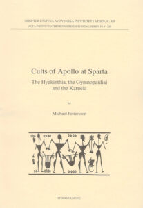 Front cover of Michael Pettersson, Cults of Apollo at Sparta